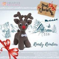 Knitty Critters Crochet Kits - Choco Renne